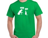 Funny cat dog t shirt pussy bitch t-shirt college humor hip cool