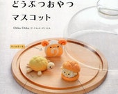 Needle Wool Felt Pattern - Kawaii Play Food, Cake, Pancake, Sweets, Bread - Japanese Craft Book - Felting Patterns - Girl Children - B624