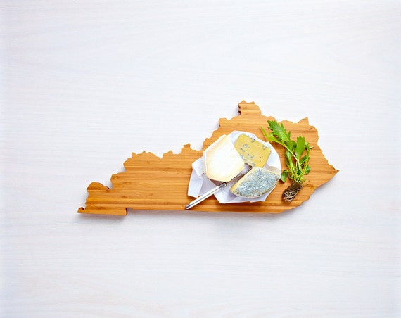 AHeirloom's Kentucky State Shaped Cutting Board