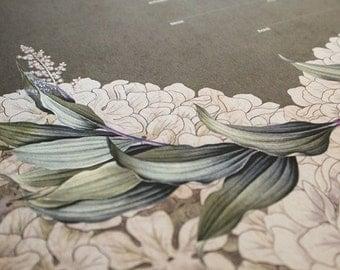 Ketubah Giclée Print by Jennifer Raichman - Green Laurel