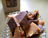 Butter Toffee with Smoked Almonds - half pound