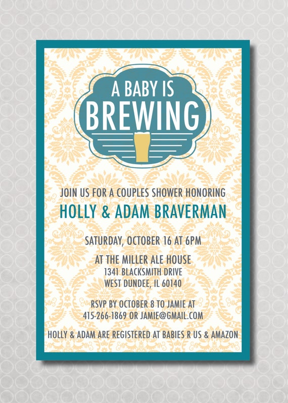 Co Ed Baby Shower Invitation was best invitations template