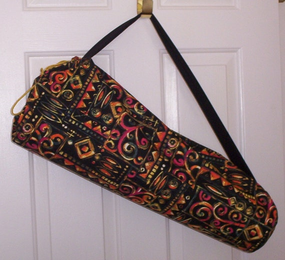 Large Yoga Mat Carrier For Thicker By UniqueSewingBoutique