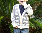 PDF Sewing Pattern - Double Dutch Cardigan for Boys and Girls, Size 6 Month - 10 Years by The Cottage Mama