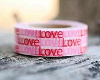 Love Love Love -  Single Roll 10 mm