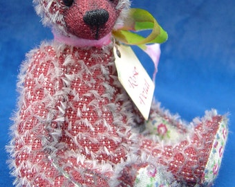 Rose Petal complete sewing kit for a miniature teddy bear