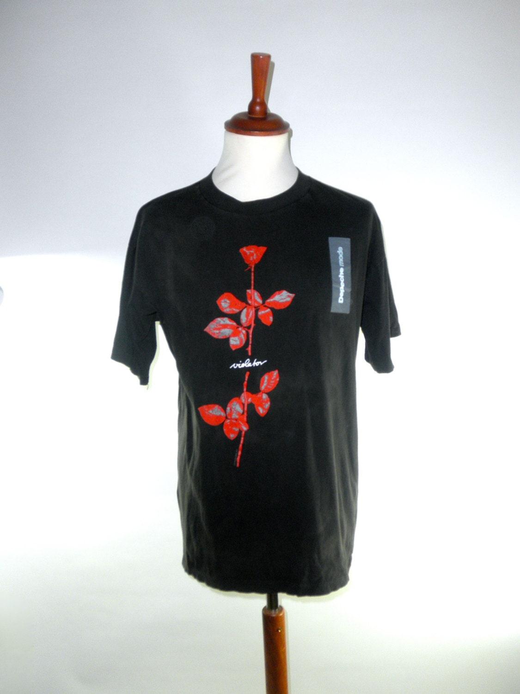 depeche mode violator tour t shirt authentic excellent. Black Bedroom Furniture Sets. Home Design Ideas