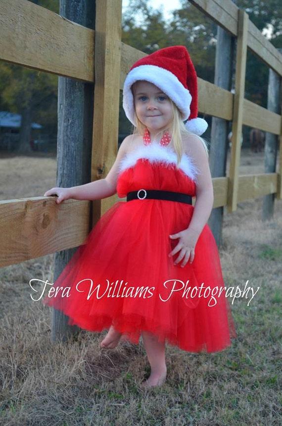 Santa Baby Tutu Dress Christmas Tutu Dress Santa