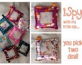 """TWO - 7"""" iSpy Bags"""