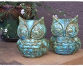 Green with Envy Owls