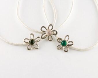Stone Flower Bracelet