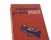 1953 HEALTH SAFEGUARDS Vintage Notebook Journal