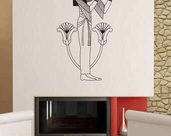 Vinyl Wall Art Decal Sticker Egyptian Woman OSDC696B