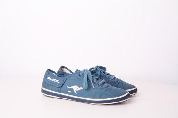 1980s kangaroos running shoes vintage tennis shoes vintage