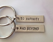 To Infinity And Beyond - Friendship Keychains, BFF, Gift, Keychain Set, Best Friends, Couples