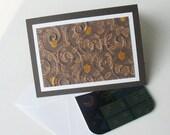 Gift Card Holder: Autumn, Blank & Handmade - Candied Acorns