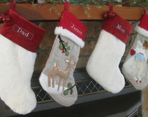 Popular Items For Woodland Stocking On Etsy