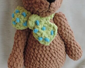 Cute Old Bear Crochet Pattern by Teri Crews Instant Download PDF Format Crochet Toy Pattern