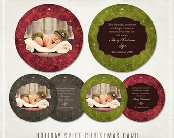 Holiday Spice Cards- WHCC 5x5 Ornaments