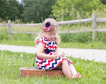 Fourth of July Dresses - Fourth of July Dress - 4th of July Dress - 4th of July Outfits - Girls Summer Dress - Military Homecoming Dress