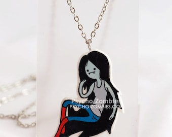 Marceline from Adventure time necklace v2