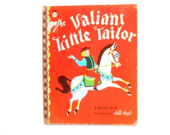 The Valiant Little Tailor, a Vintage Children's Book, 1961