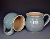 Ocean Jade Mug Coffee Cup Round