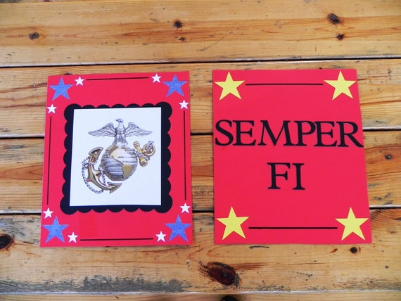 Military Welcome Home Signs 16 x20inch---Customization Available