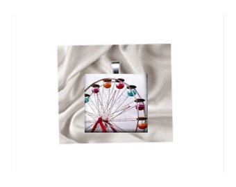 Pendant Necklace Carnival Ferris Wheel