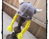 Viking Costume Hat, Viking Helmet, Viking Hat, Viking Boy, Viking Girl, Viking Beanie, Lady Viking, Man Viking, Viking Costume