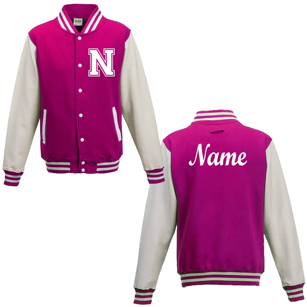 Custom varsity jackets for women