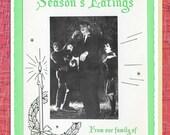 Vintage Holiday Cards: Season's Eatings