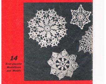 Vintage Crochet Medallion Patterns by Paragon