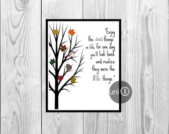 Inspirational Quote Nature Print, Digital Art, Wall Art, 8x10 Print, INSTANT DOWNLOAD
