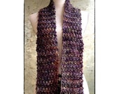 Broken Seed Scarf Knitting Pattern Chunky Scarf - Diy Christmas Gift Men's Scarf, Unisex, Beginner Scarf Pattern WWKIP Day