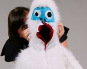 Abominable Snowman Yeti Bumble Monster Kids or Baby Costume