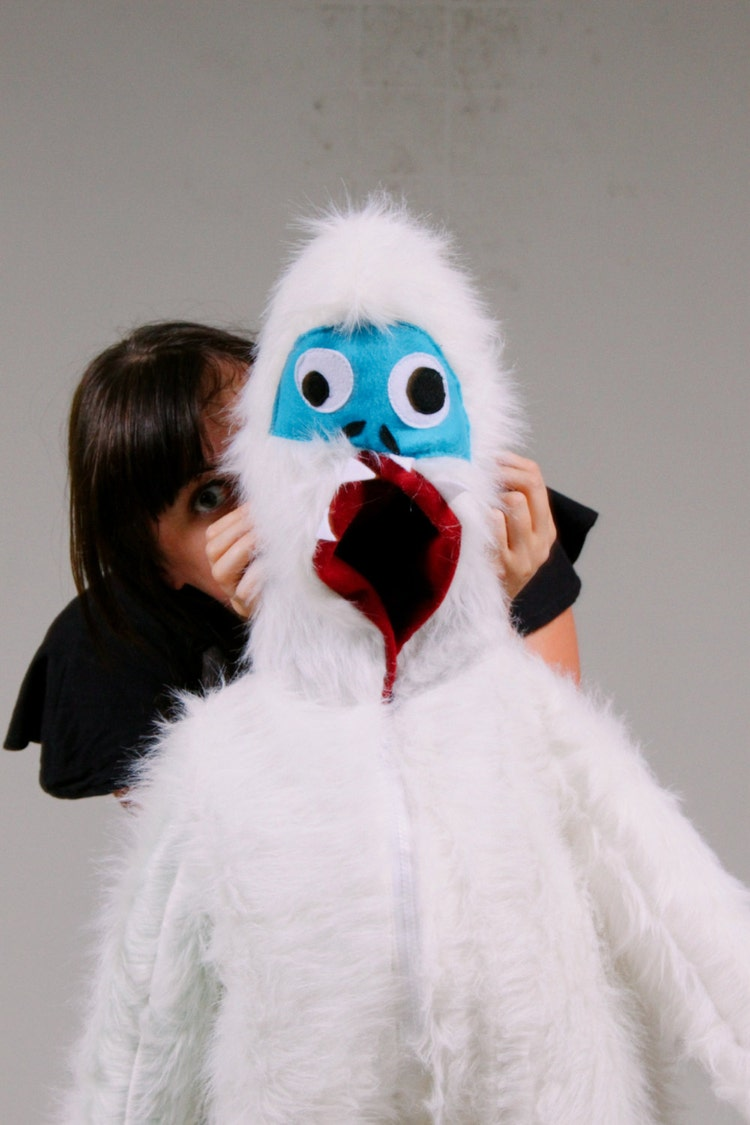 Abominable Snowman Yeti Bumble Monster Kids Or By