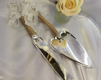 Wedding Cake Server And Knife Cake Knife Serving Set