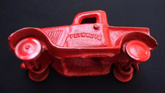 Antique Plymouth Truck Hot Rod Cast Iron Metal Gift For Him