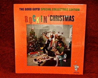 CHRISTMAS...SEALed - Rockin' Christmas...the 50s and 60s -  Vintage Vinyl Record Album