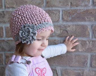 Ava's Ripple Stitch Cloche Crochet Hat Pattern (251)