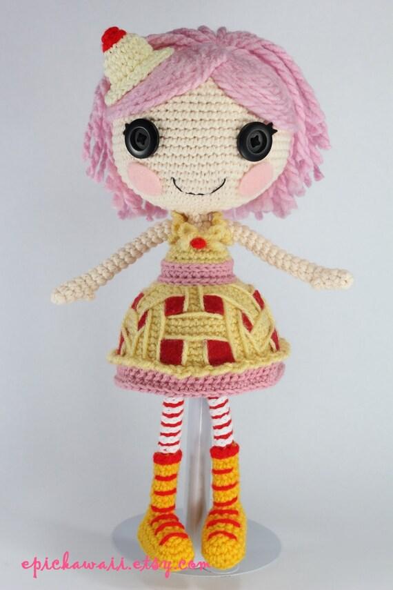 Sock Monkey Amigurumi Pattern : PATTERN: Cherry Crochet Amigurumi Doll by epickawaii on Etsy