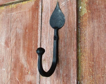 Large Candle Flame Ball End Hook