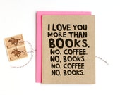 Books and Coffee Card