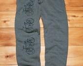 Bike Pants, Men's Sweatpants, Biking Sweats S,L,XL,XXL