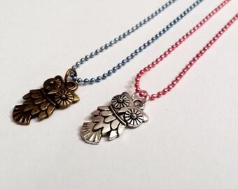 Sale! delicate Owl Necklaces