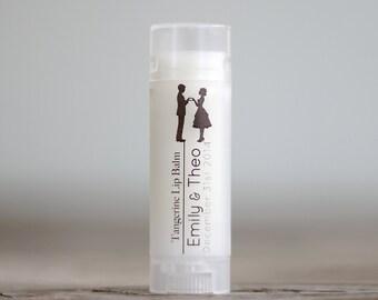 Wedding Favor Custom Lip Balm Bridal Showers or wedding favor lip balms/ All Natural Lip Balm with custom label / Weddings Decor Favors