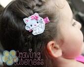 Adorable Cat Hair Clip - Meet Miss Kitkat the Kitten