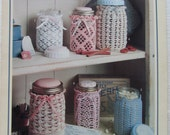 Crochet Jar Doilies (Covers) Leisure Arts Leaflet 2000