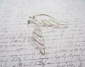 Angel Wing Earrings, Wing Jewelry, Angel Earrings, Swedish Jewelry Design, Made in Sweden